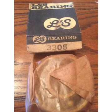 L&S Double Roll Bearing 3305 Vintage New Old Stock NOS USA