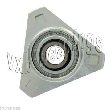 FHSPFTZ205-25mm Flange 3 Bolt Triangle 25mm Ball Bearings Rolling