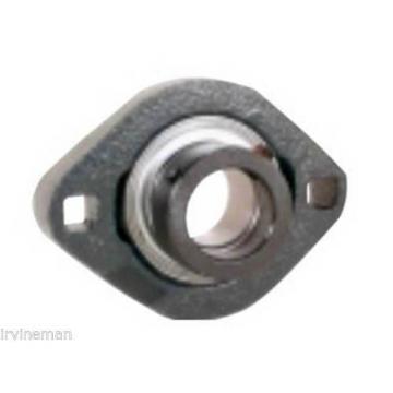 FHSFD205-25mm Bearing Flange Light Duty 2 Bolt 25mm Ball Bearings Rolling