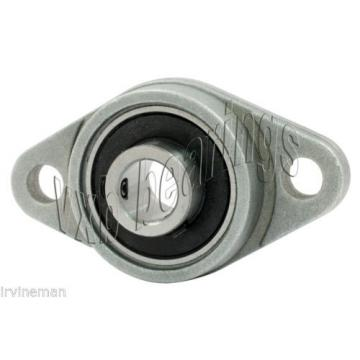 RCSMRFZ-20mmS Bearing Flange Insulated Pressed Steel 2 Bolt 20mm Rolling