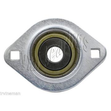 "FHSPFLZ207-21 Bearing Flange Pressed Steel 2 Bolt 1 5/16"" Bearings Rolling"