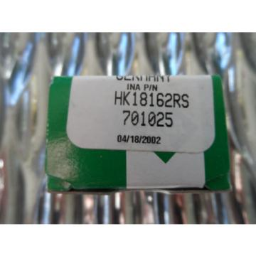INA HK18162RS Needle Rolling Bearings Open End Type