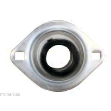 "FHSR201-8-4X728 Bearing Flange Pressed Steel 2 Bolt 1/2"" Inch Bearings Rolling"