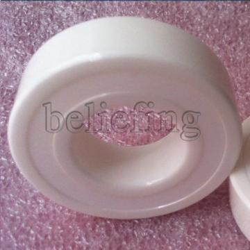 2pcs 6000-2RS Sealed Full Ceramic Bearing ZrO2 Ball Bearing 10x26x8mm