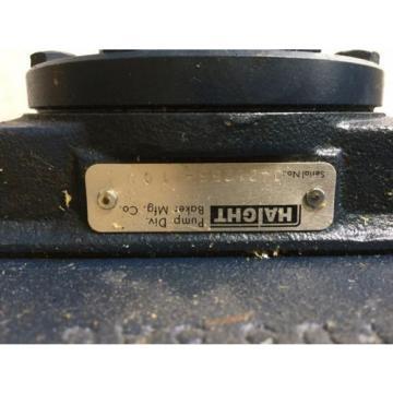 "NEW HAIGHT FD5-5AC HYDRAULIC GEAR PUMP,5/8"" SHAFT FD55AC CAPLUGS P-88-H"