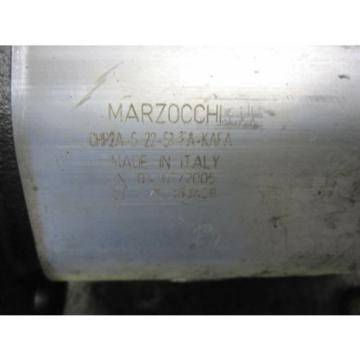 NEW MARZOCCHI HYDRAULIC PUMP # GHP2A-S-22-S3-5A-KAFA