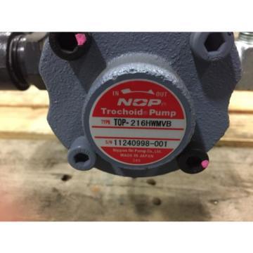 NOP Dual Trochoid Pump TOP2MY1500 216HWMVB