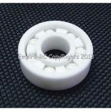 (2 PCS) 696 (6x15x5 mm) Full Ceramic Zirconia Oxide Ball Bearing (ZrO2) 6*15*4