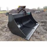 JSA 2.0m Excavator 13-16 ton High Capacity compost and wood chip bucket